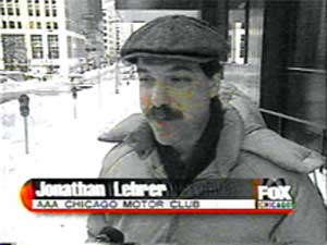 Frightening thought: More than 15 years later, I'm still wearing that hat and coat.