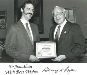 Jonathan Lehrer,  Gov. George Ryan